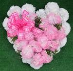 5. Silk Floral Hearts Option 2