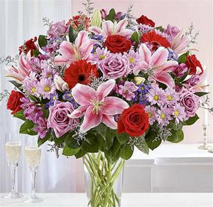 4a. Very Large Bouquet of Flowers