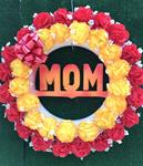 30.  Our Largest MOM Silk Wreath