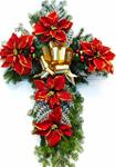 40 n.  Our Most Beautifully Decorated BALSAM CROSS 36 Inch