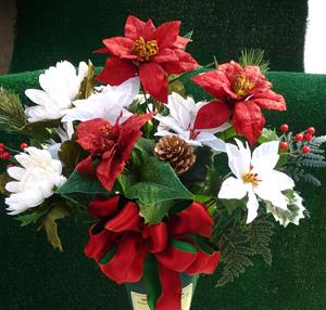 d. Christmas Silk Bouquet