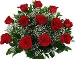 42a. Valentine's Day One Dozen Red Roses