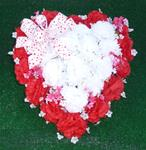 42e.  Red Silk Heart for Valentine's Day